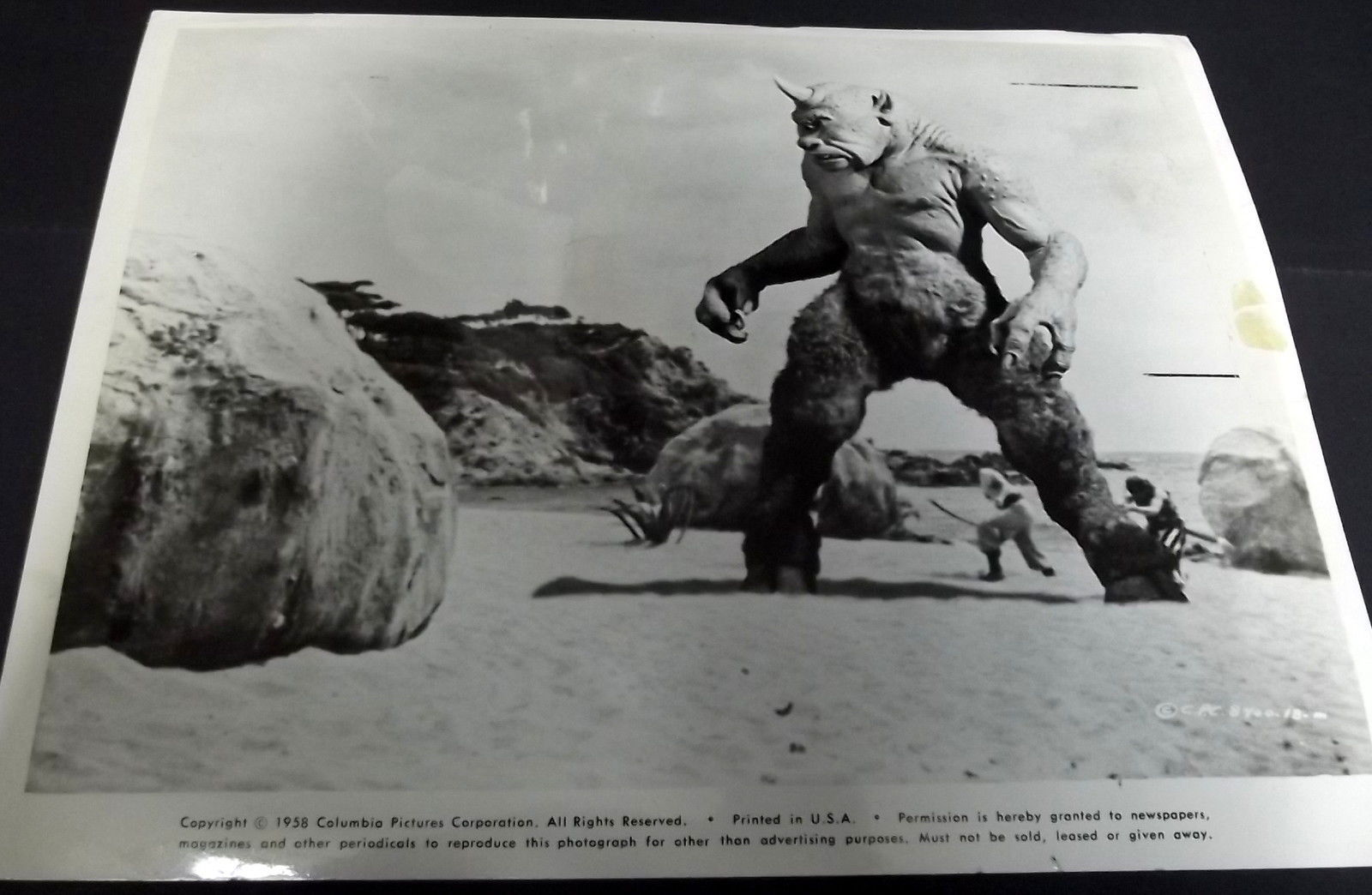 RAY HARRYHAUSEN (7TH VOYAGE OF SINBAD) ORIG,1958 ANIMATION STILL (CLASSIC) WOW