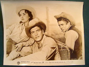 ELIZABETH TAYLOR,JAMES DEAN (GIANT) VINTAGE CAST PHOTO