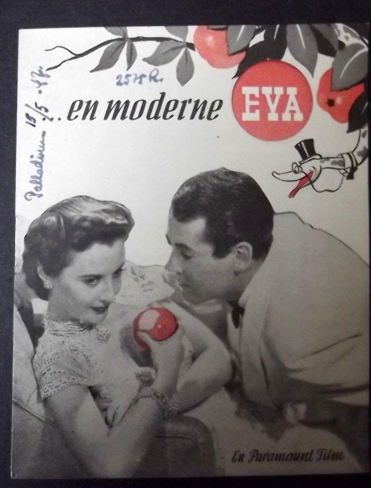 PRESTON STURGES,H.FONDA B. STANWYCK (THE LADY EVE)  RARE 1940,S EURO PROGRAM