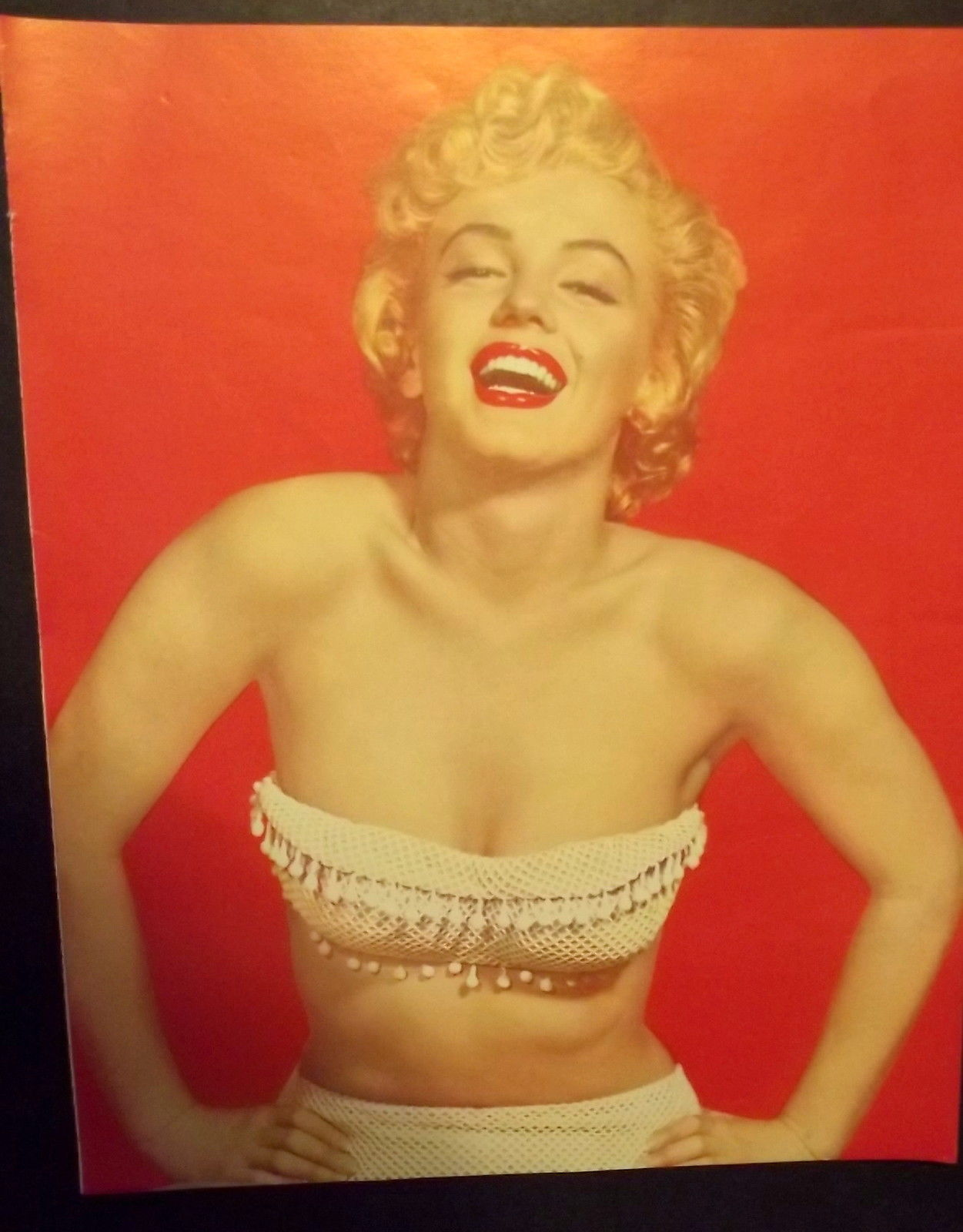 MARILYN MONROE ( RARE EARLY SEXY 1953 PIN-UP PHOTO) # 4