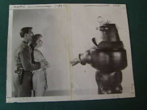 ANNE FRANCIS,ROBBIE,ROBOT (FORBIDDEN PLANET) ORIG,PHOTO