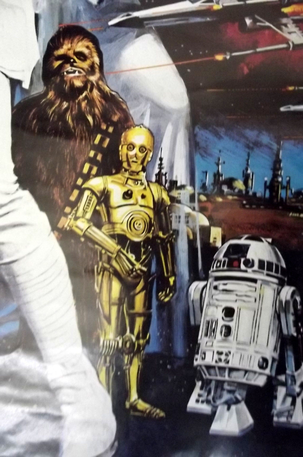 GEORGE LUCAS,DIRECTOR (STAR WARS) ORIGINAL VINTAGE MOVIE POSTER /CLASSIC SCI-FI
