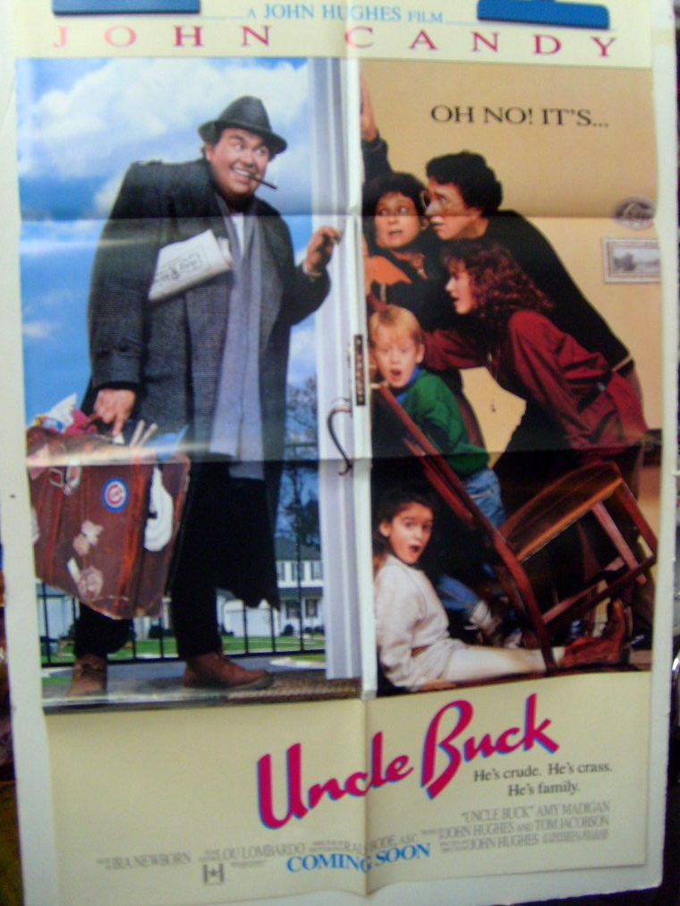 JOHN HUGHES,DIR: MR.MOM,UNCLE BUCK,AND MORE (ORIG,MOVIE POSTER LOT) CLASSIC
