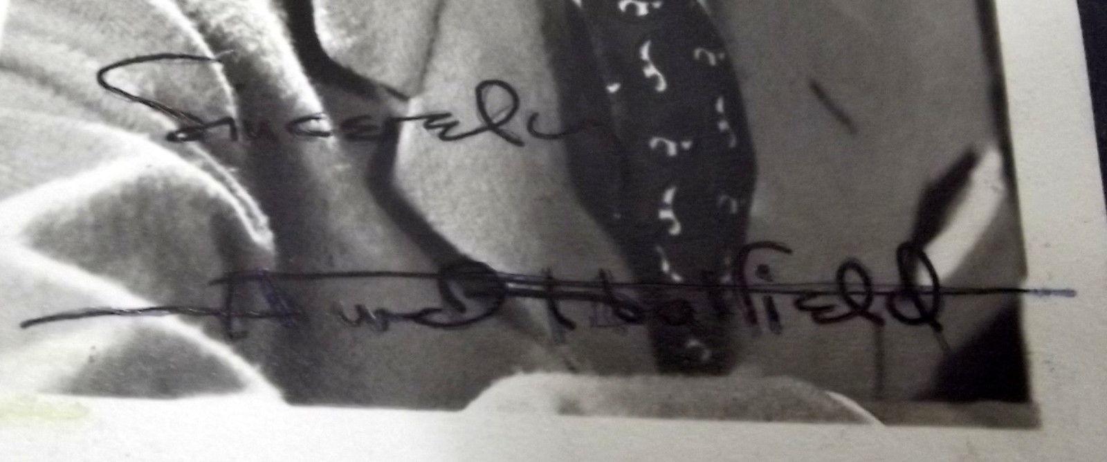 OSCAR WILDE,HURD HATFIELD (PICTURE OF DORIAN GRAY) AUTOGRAPH PHOTO (WOW)