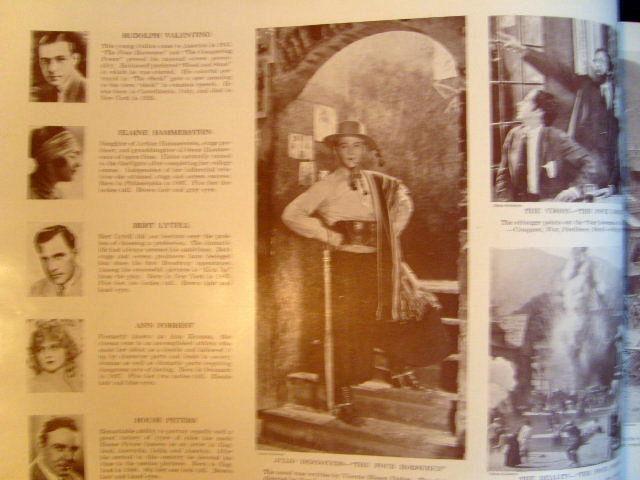 CHARLIE CHAPLIN,HAROLD LLOYD,& MORE RARE 1927 (MASTERS OF THE SCREEN) BOOK (WOW)