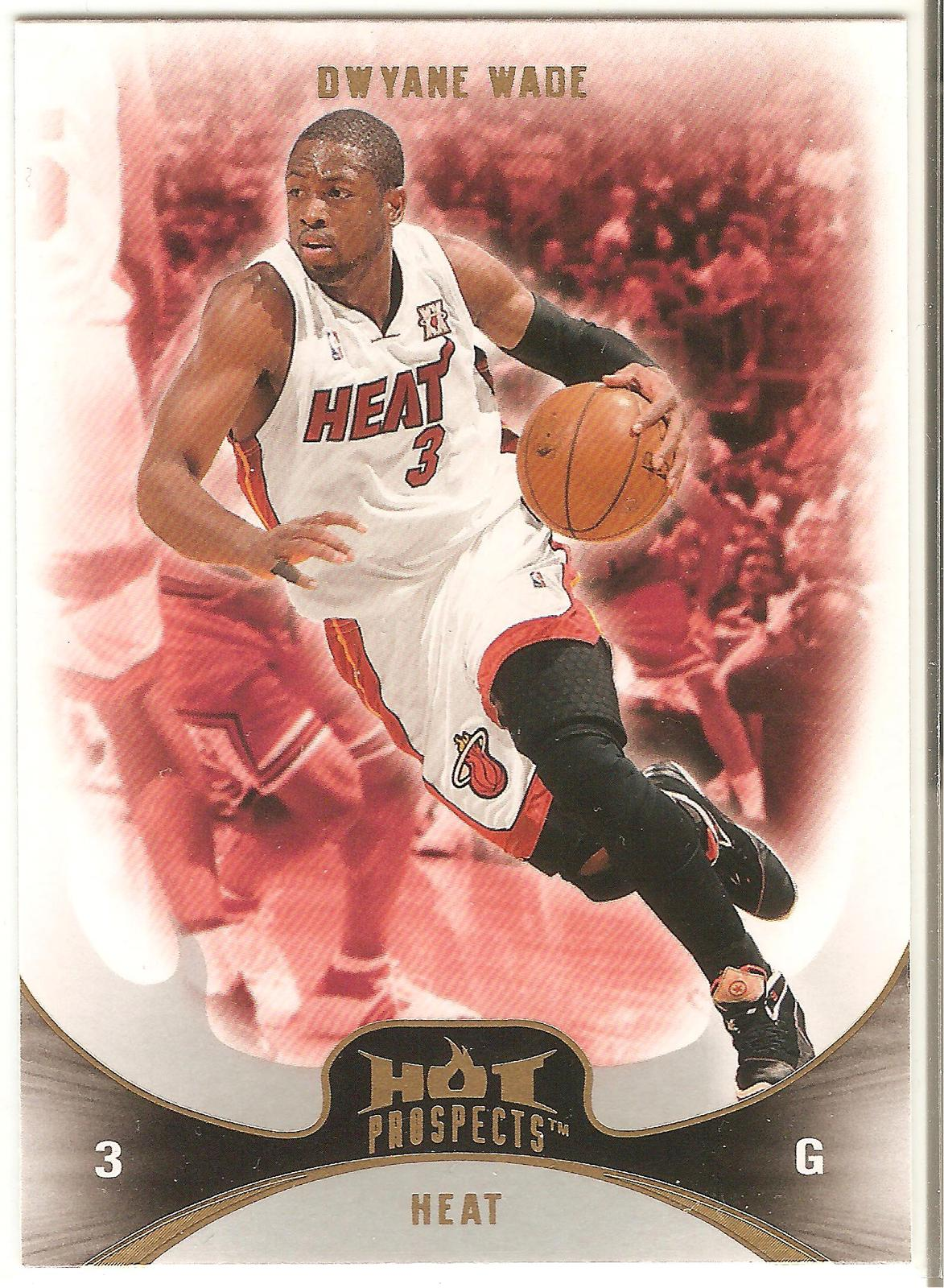 Dwyane Wade Fleer Hot Prospects 08-09 #81 Miami Heat