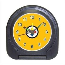 Pittsburgh Steelers Compact Travel Alarm Clock - NFL Football (Battery Included) - $9.94