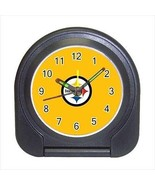 Pittsburgh Steelers Compact Travel Alarm Clock - NFL Football (Battery I... - $9.94