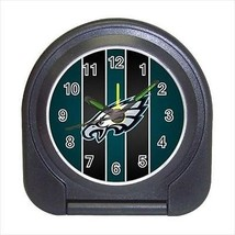 Philadelphia Eagles Compact Travel Alarm Clock - NFL Football (Battery Included) - $9.94