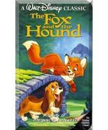 VHS - The Fox And The Hound (1981) *Walt Disney / Mickey Rooney / Kurt R... - $5.99