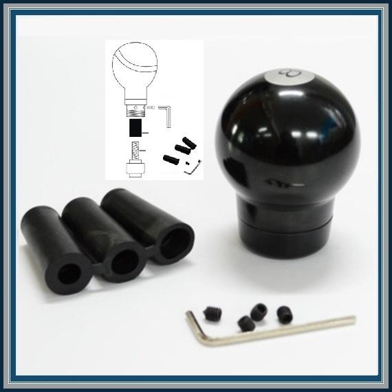 Atv Shift Knobs : Black ball stick shift manual transmission gear head