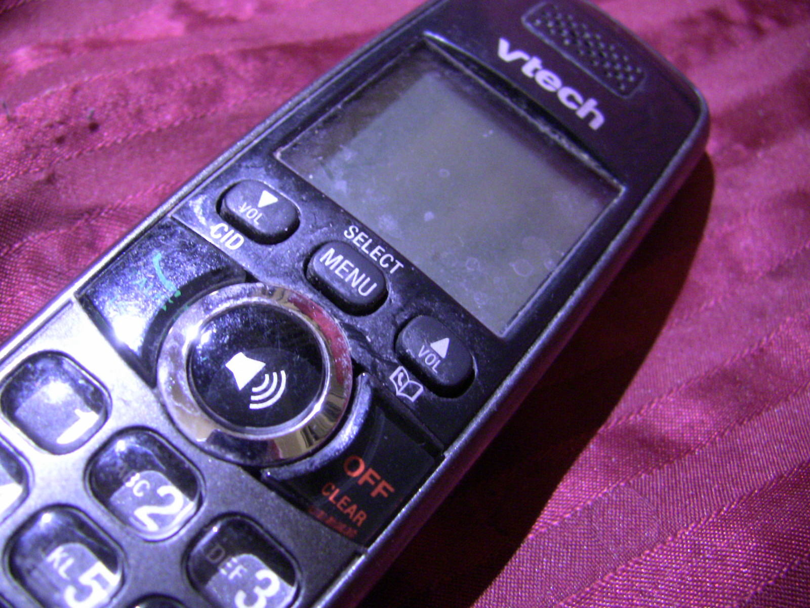 VTech CS6328-4 DECT 6.0 Replacement Handset Only  - With Battery