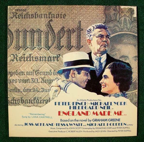 ENGLAND MADE ME  ~   Original Soundtrack Recording LP       Peter Finch