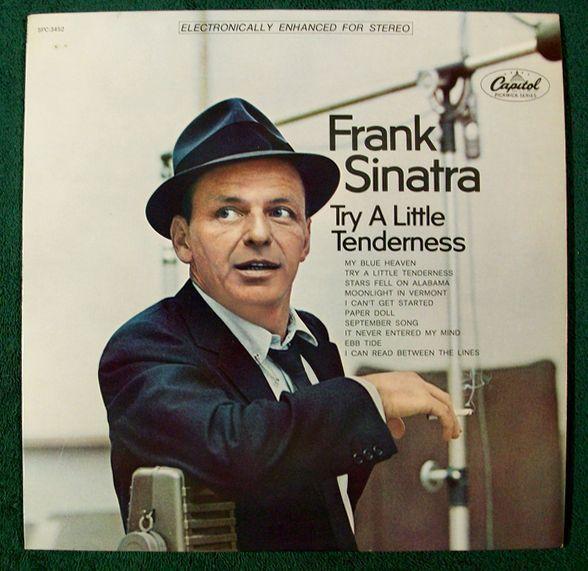 FRANK SINATRA  ~  Try A Little Tenderness          1968 Pop LP