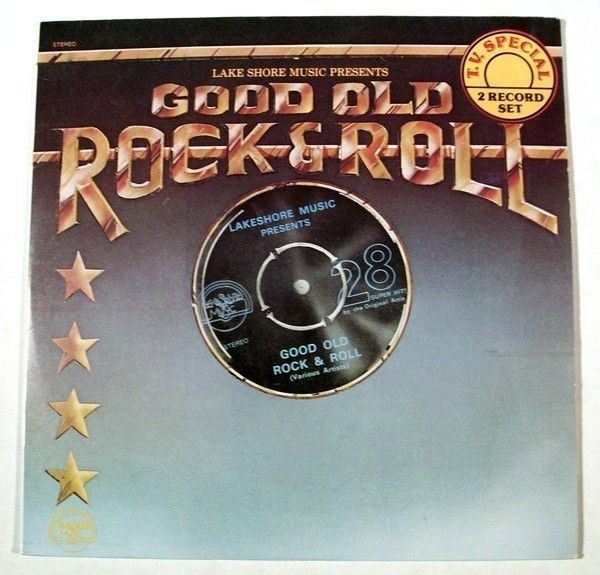 GOOD OLD ROCK & ROLL   /    Various Artists LP      1978  2 Record Set
