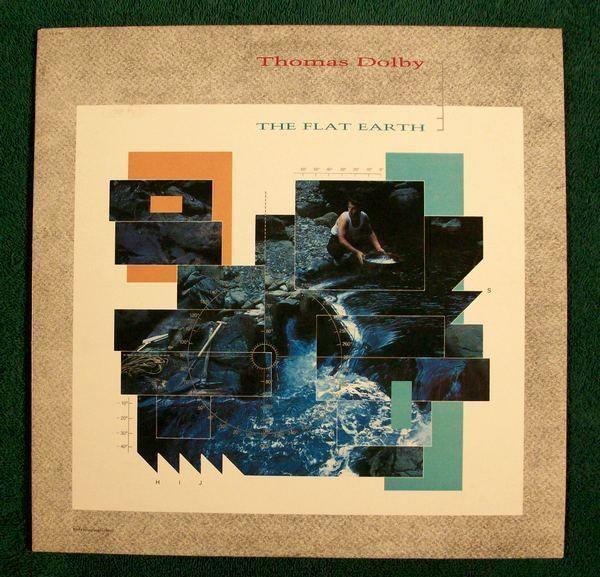 THOMAS DOLBY  ~  The Flat Earth         1984 Alt / Prog Rock LP