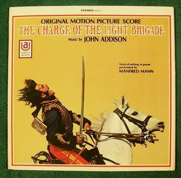 THE CHARGE OF THE LIGHT BRIGADE  ~  1968 Original Motion Picture Score LP