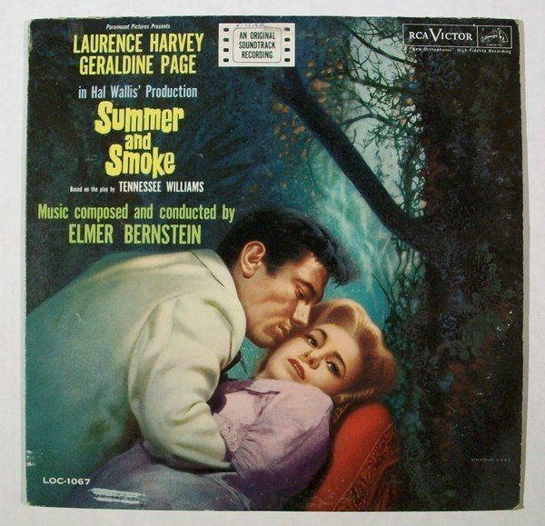 SUMMER AND SMOKE  ~   1961 Original Soundtrack LP      Laurence Harvey