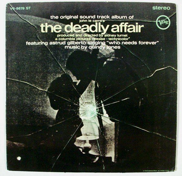 THE DEADLY AFFAIR  ~   1966 Original Soundtrack LP       Quincy Jones