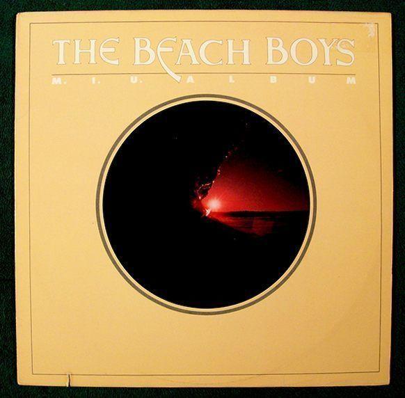 The BEACH BOYS  ~  M.I.U. Album            1978 Rock & Roll LP