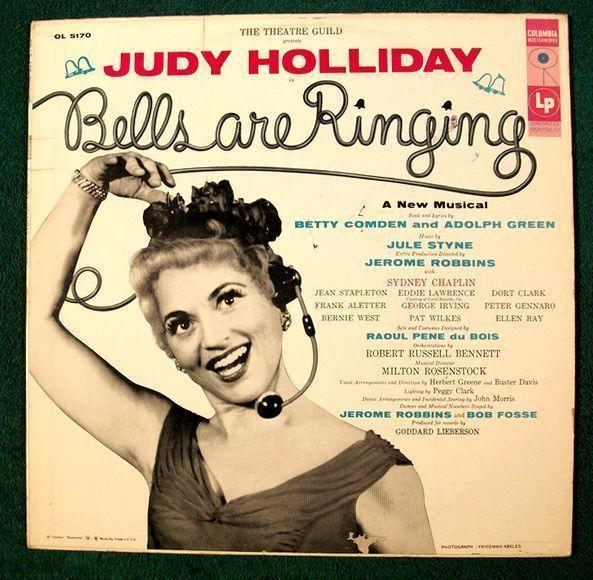 BELLS ARE RINGING   ~   1957 Original Soundtrack Recording LP     Judy Holliday