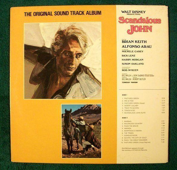 SCANDALOUS JOHN   ~   1971 Original Soundtrack LP     Composed by Rod McKuen.