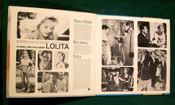LOLITA   ~   1962 Original Soundtrack Recording LP      Sue Lyon / James Mason