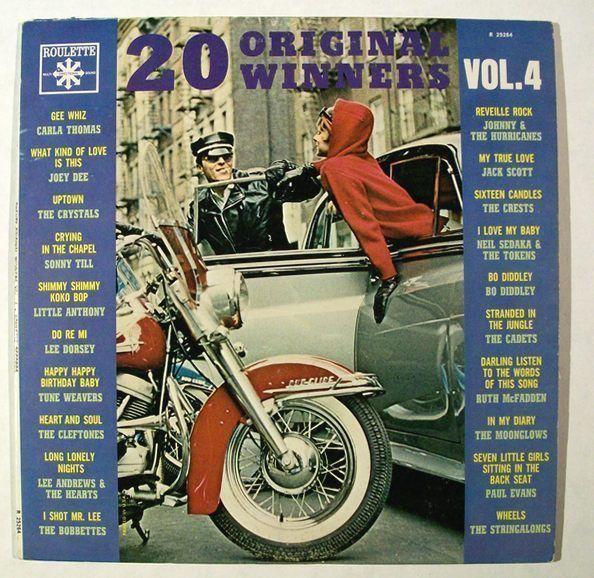 20 ORIGINAL WINNERS   /    1965 Various Artists LP     1950's - 60's Hits