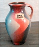 Bay Keramik Hand-Painted Vase Made In West Germany C.1950'S-60'S abt 5 3... - $17.99