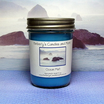 Ocean Mist Pure Soy Jelly Jar Candle - $8.00