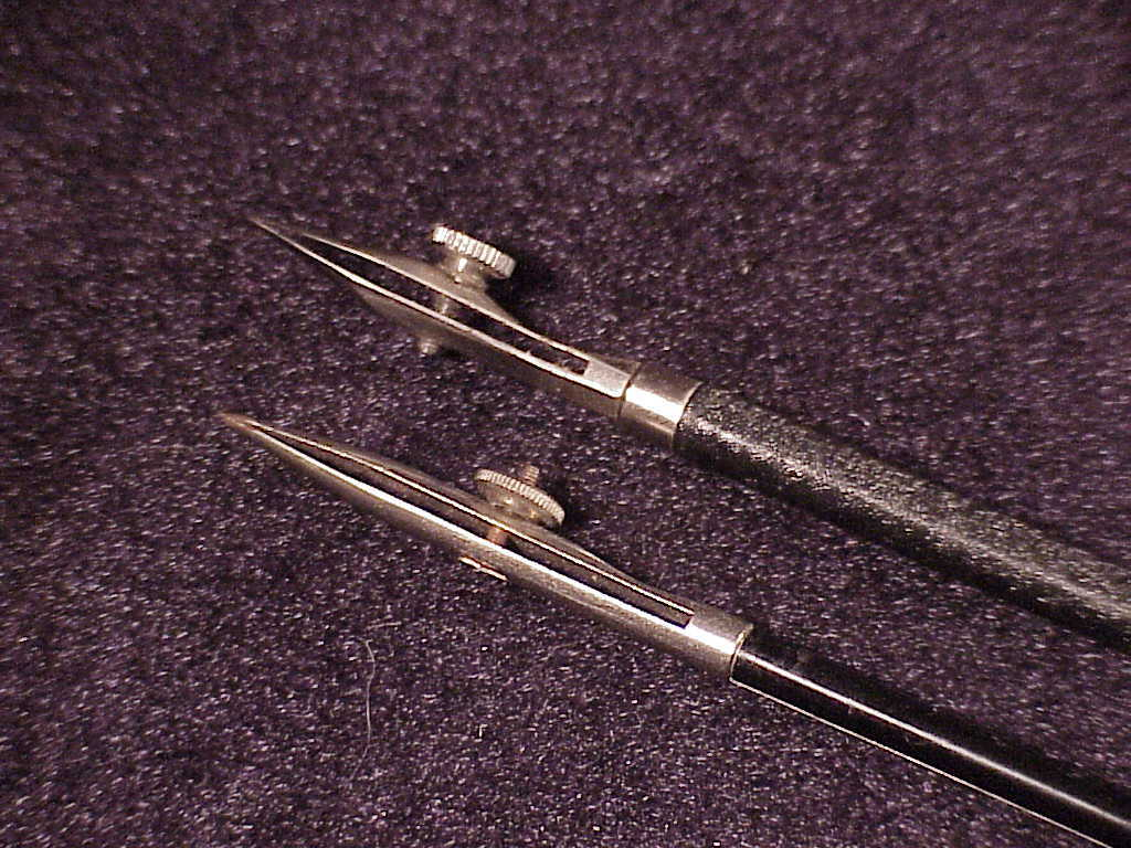 Pair of Vintage Compass Drafting Ink Pens, one made in Germany