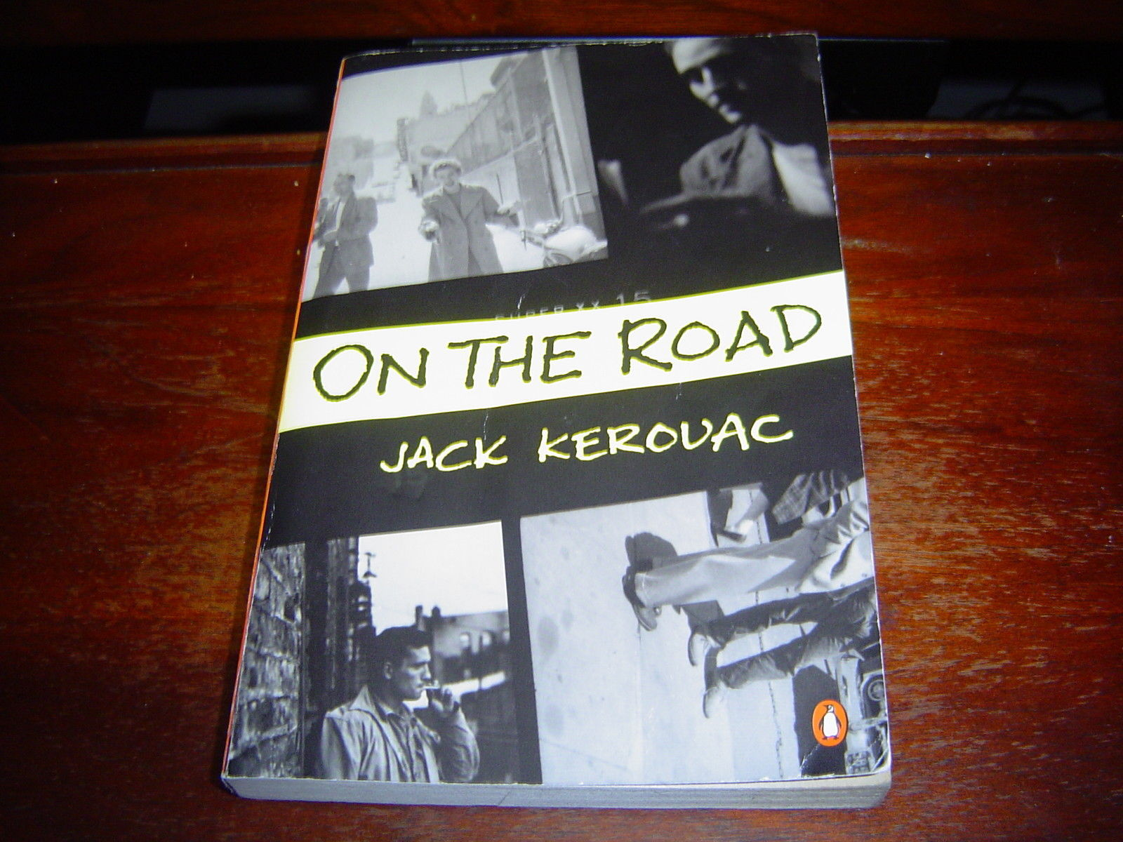 ON THE ROAD by Jack Kerouac (1976) LARGE SOFTCOVER