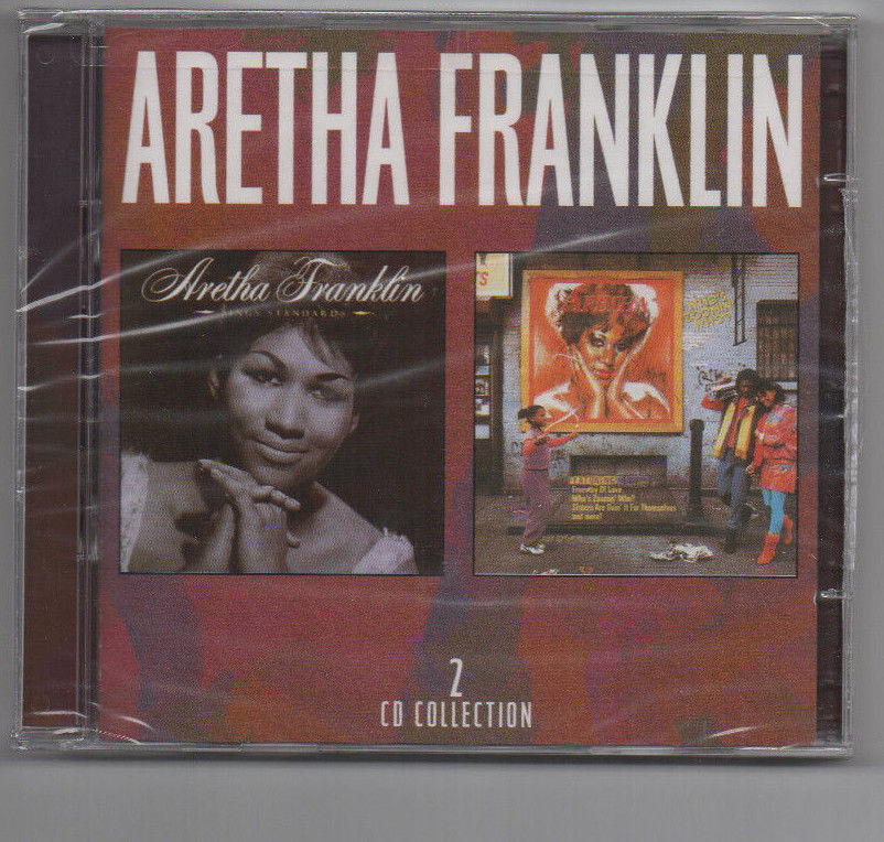 ARETHA FRANKLIN-Sings Standards/Who's Zoomin Who sealed (2 CD)