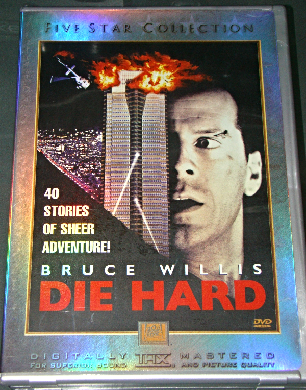 Dvd - FIVE STAR COLLECTION - BRUCE WILLIS - DIE HARD