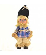"""Precious Moments Doll Wizard Of Oz Scarecrow Clever As Can Be 7"""" T Colle... - $22.00"""