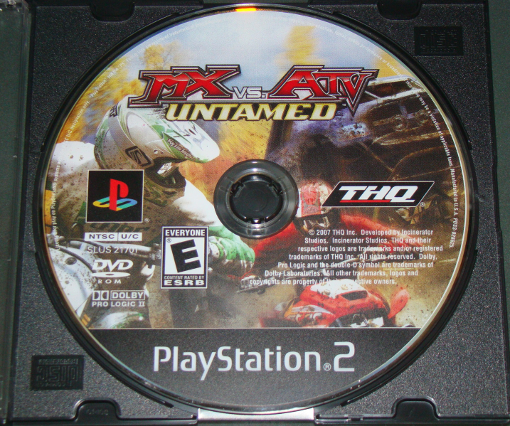 Playstation 2 - THQ - MX VS. ATV UNTAMED (Game Only)