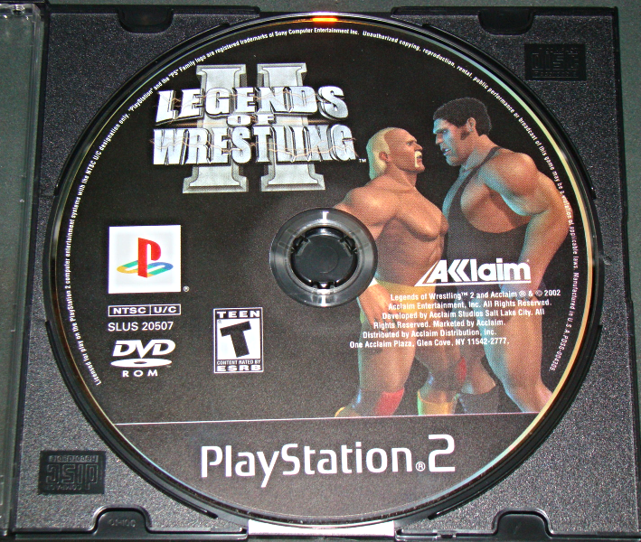 Playstation 2 - ACCLAIM - LEGENDS OF WRESTLING II (Game Only)