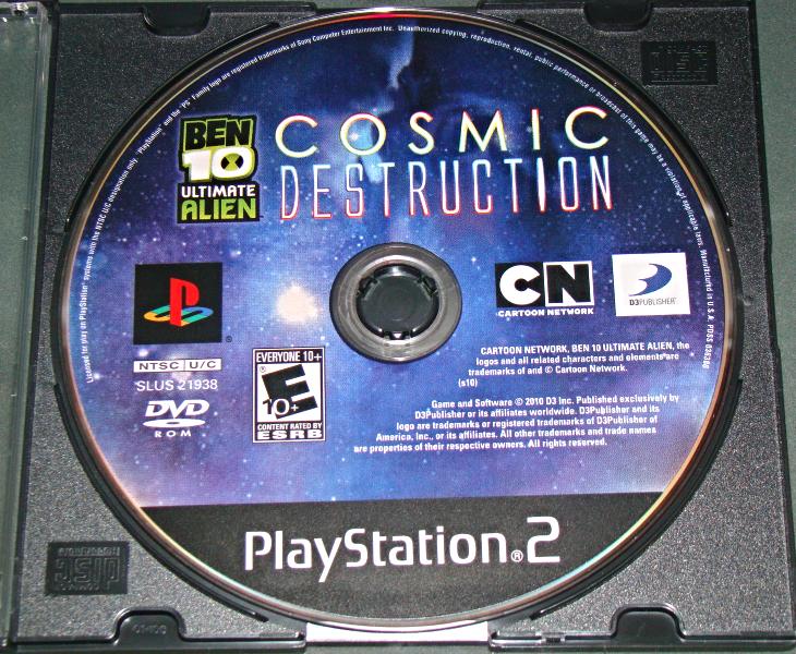 Playstation 2 - BEN 10 ULTIMATE ALIEN COSMIC DESTRUCTION (Game Only)