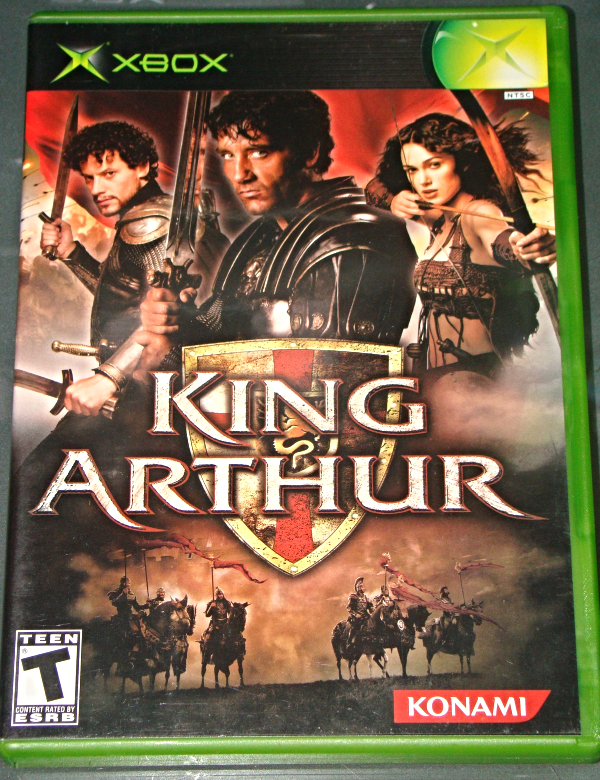 XBOX - KONAMI - KING ARTHUR (Complete with Instructions)