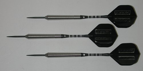 Vi Skin Rippers 26 grams, 90% Tungsten, SKIN RIPPER Grip Fixed Point Darts