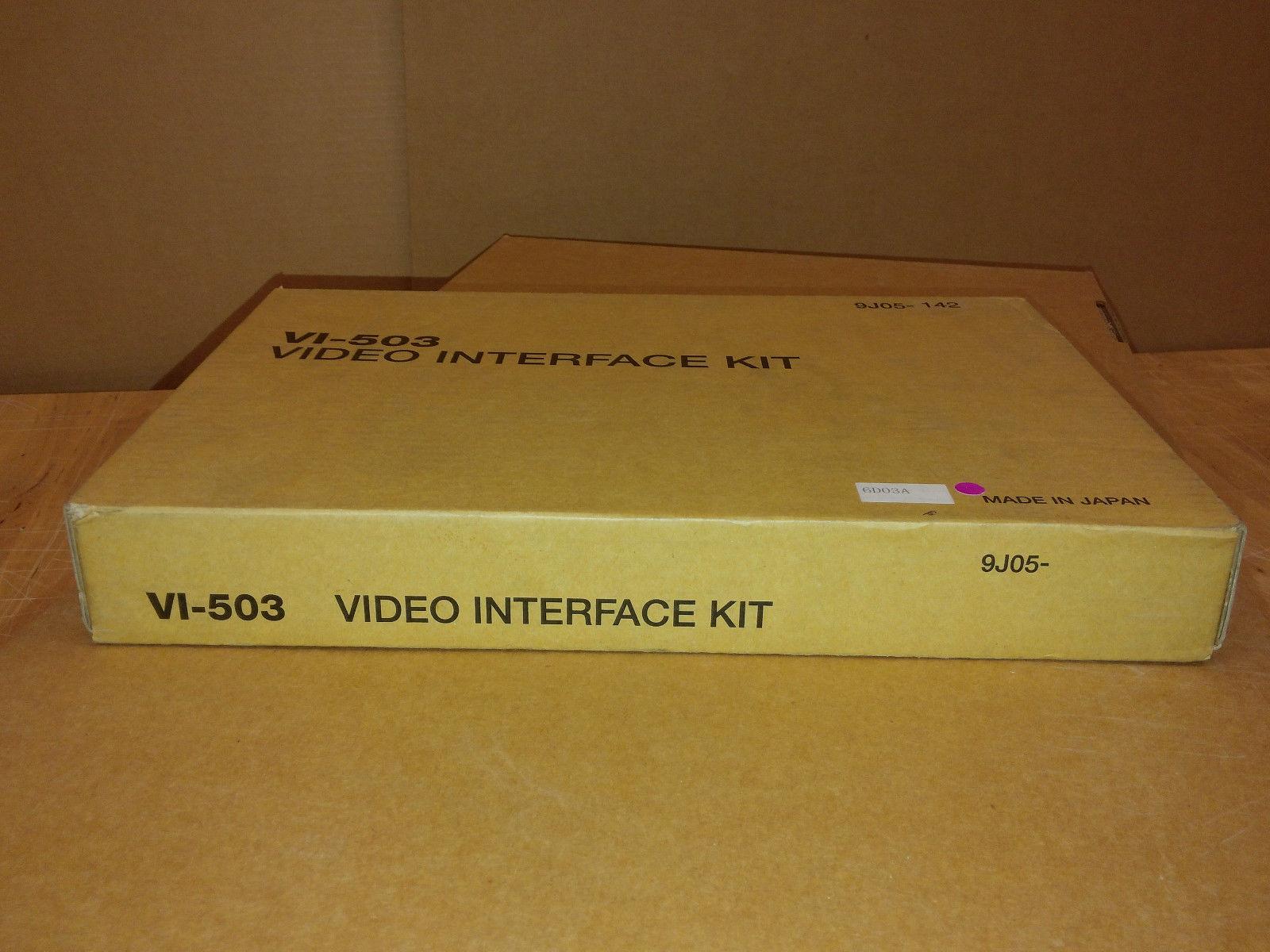 Konica Minolta Bizhub VI-503 Video Interface Kit (9J05-142) Fiery IC-406