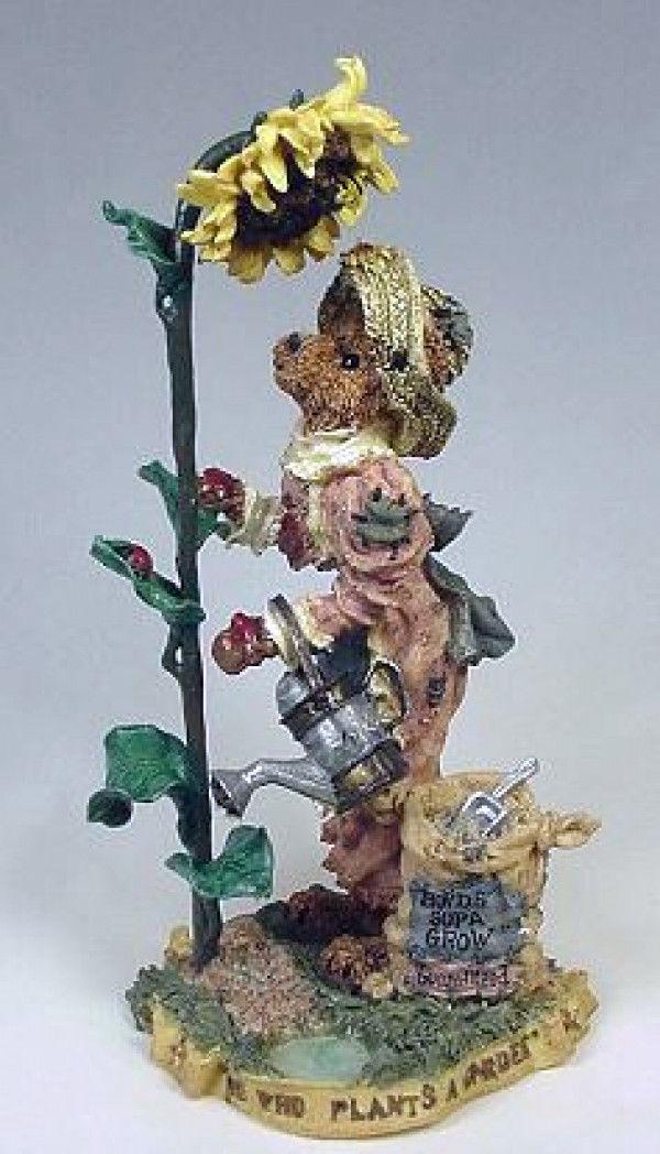 """Boyds Folkstone """"Liddy Pearl..How Does Your Garden Grow""""- #2881- NIB- 1998"""