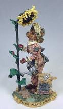 """Boyds Folkstone """"Liddy Pearl..How Does Your Garden Grow""""- #2881- NIB- 1998 - $39.99"""