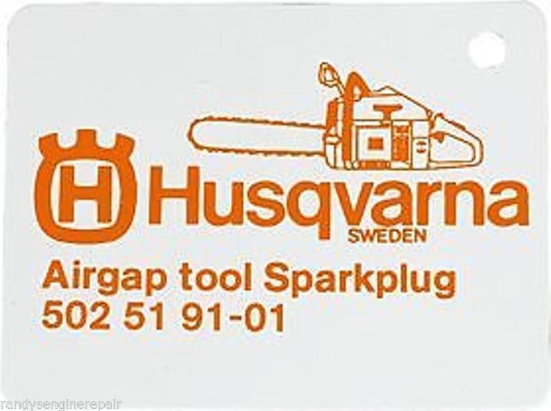 502519101 Husqvarna Airgap Gauge Tool 502 51 91-01