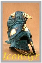 Ancient Greek Bronze Museum Replica of Athenian Helmet (369) [Kitchen] - $68.21