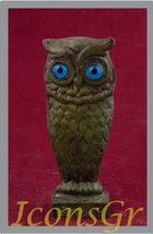 Ancient Greek Bronze Museum Statue Replica of Owl on a Podium (1523) [Ki... - $39.10