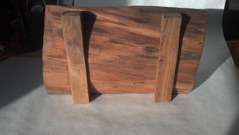 Natural Edge Black Walnut serving tray/cutting board.