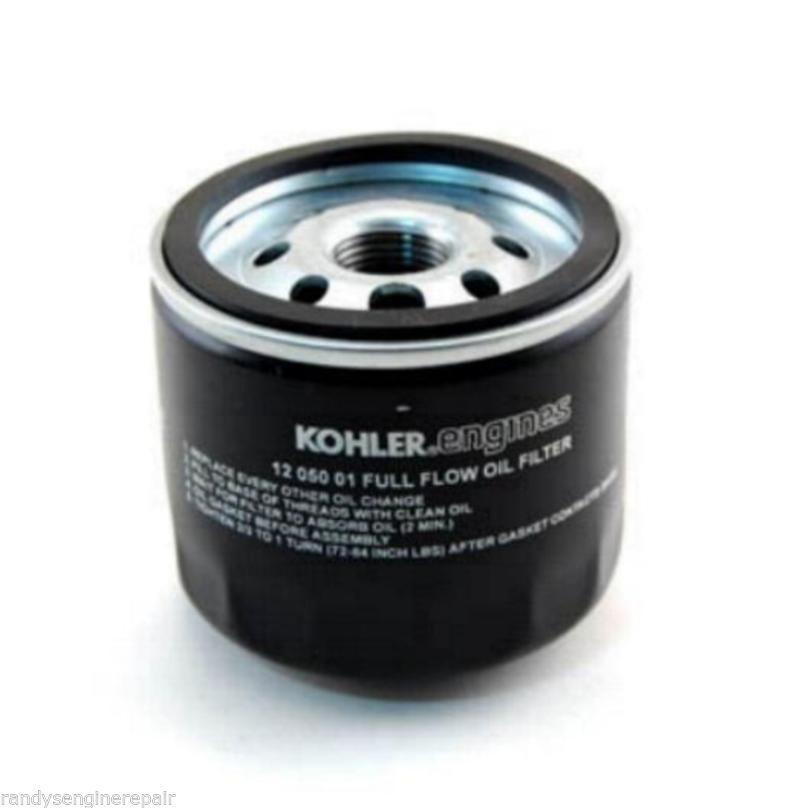 OEM Kohler Redesigned 12 050 01-S 1205001S Oil Filter for Better Performance New
