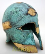 Ancient Greek Bronze Museum Replica of Corinthian Helmet (376) [Kitchen] - $234.91