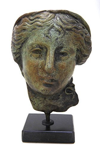 Ancient Greek Bronze Museum Statue Replica of Hygeia Goddess of Health (1696)